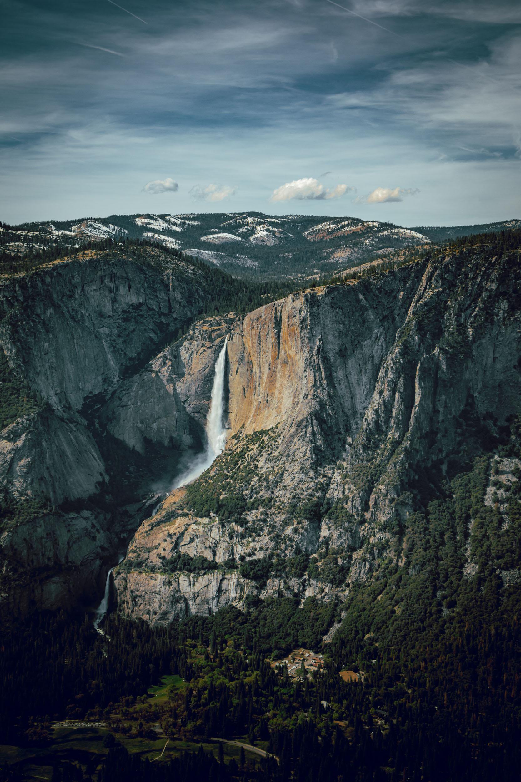 Matt Grandbois Photography — yosemite_falls_aerial